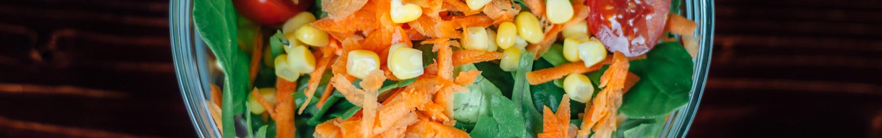Groente en fruitsalades